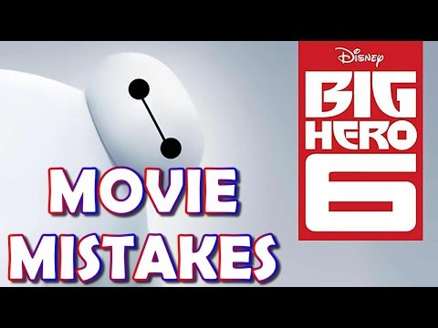Most Amazing Big Hero 6 Secrets You Didn't Notice |   Big Hero 6 MOVIE MISTAKES MISTAKES