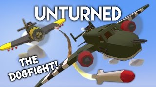 Unturned | The Dogfight! (WW2 Roleplay)