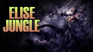 Elise Jungle - League Of Legends Full Game - I Made A Promise..