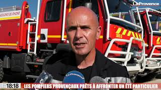 Le 18:18 - En Provence, pompiers et bénévoles prêts à faire face aux feux de forêts