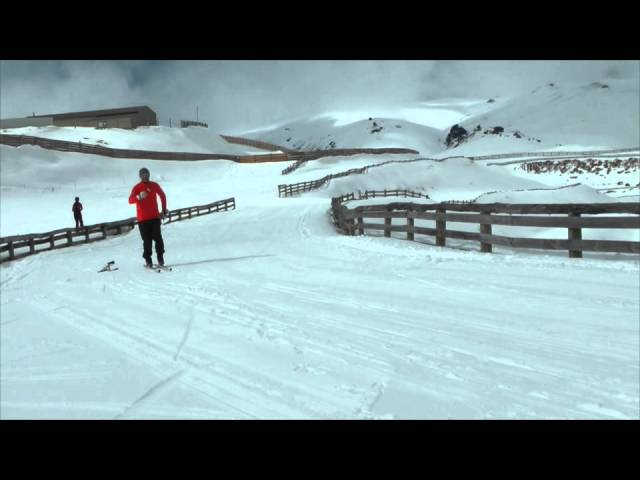 Cross Country Skiing - Classic cross country ski technique