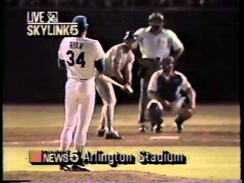 Opening NBC 5's 10 o'clock news with Nolan's 7th No-Hitter