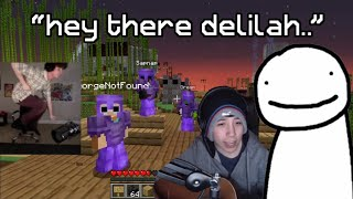 Dream, Quackity and karljacobs sing 'Hey There Delilah'