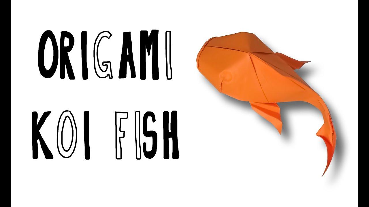 hight resolution of origami koi fish riccardo foschi