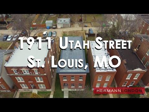 Drone-1911 Utah Street St. Louis, MO-Benton Park-Hermann London Realtors