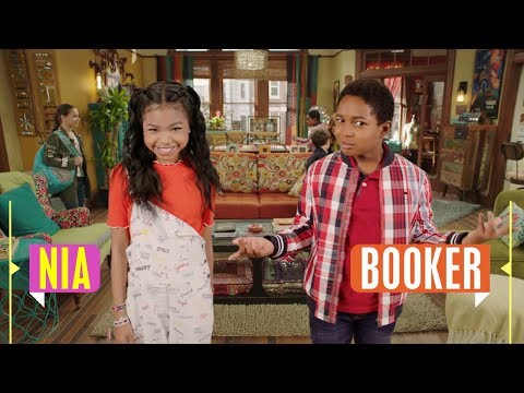 Nia & Booker | Raven's Home | Disney Channel