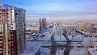 АЭРО АНГАРСК: ЗИМА 2018 Ермак, Фестиваль, Социалистическая, Ленинградский проспект