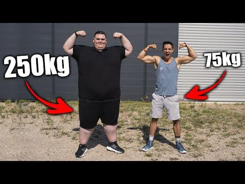IL PÈSE 250kg ! (DÉFI PERTE DE POIDS EXTRÊME) ft. KENI