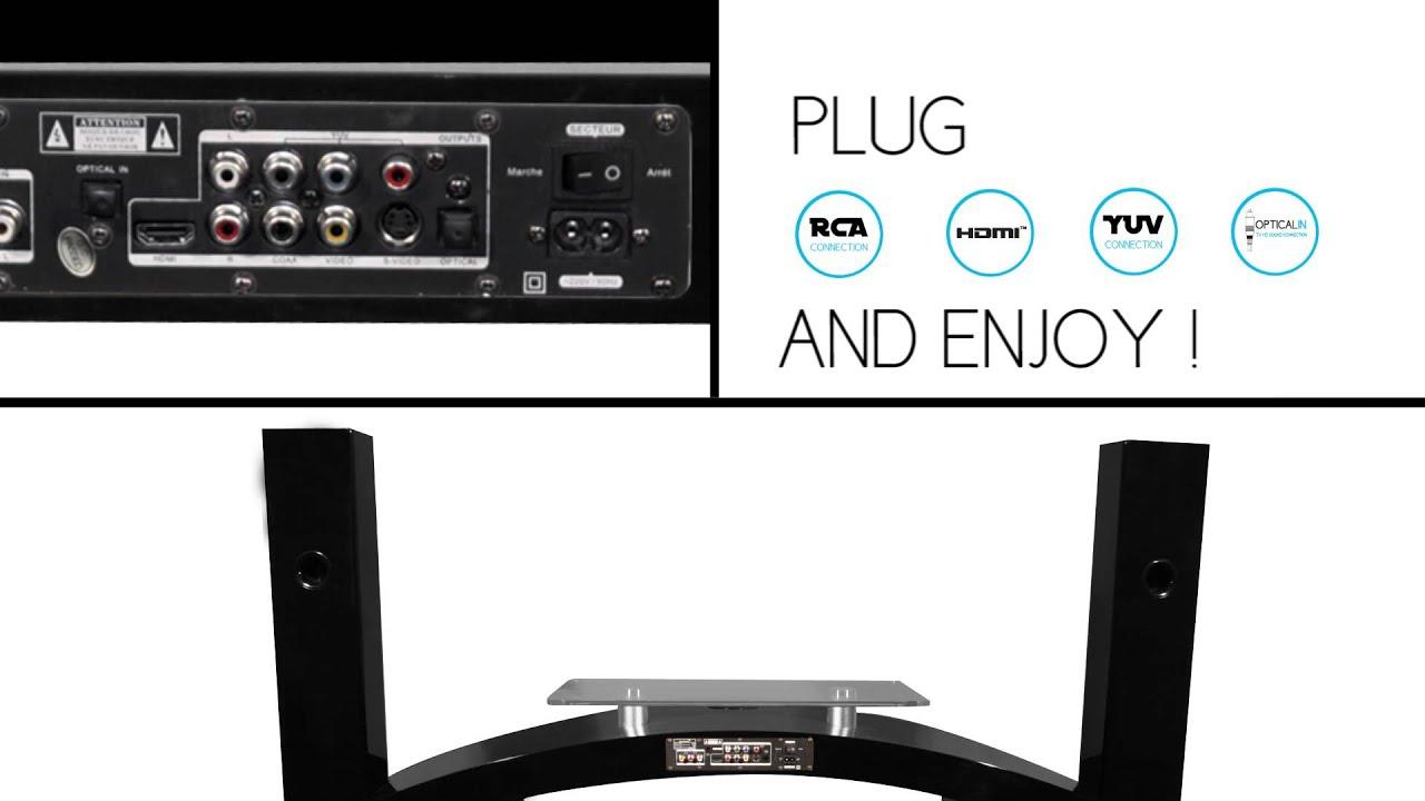 Meuble Tv Home Cinma Intgr Watts Fabulous Anthem Mrx Pin It With  # Meuble Tv Watts