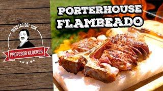 Porterhouse (Entrecot) flambeado - Recetas del Sur