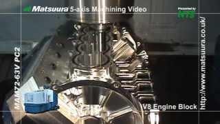 Matsuura V8 Block Machining from Solid Billet 2013 edit NBM