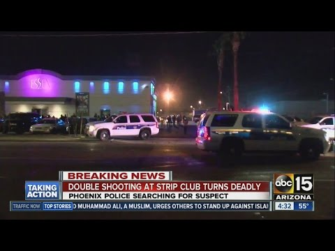 One dead in Phoenix strip club shooting