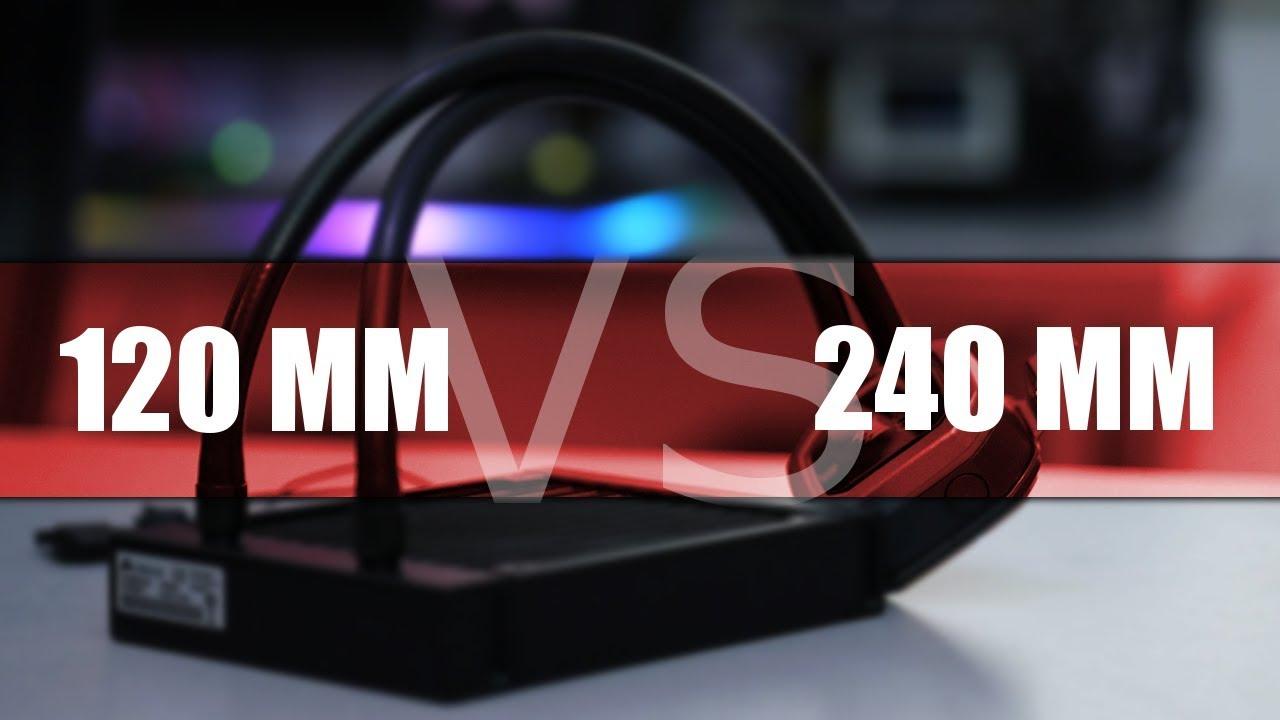 120 mm czy 240 mm - jakie CHŁODZENIE WODNE wybrać?