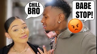 "CALLING My Boyfriend ""BRO"" For 24 Hours *GONE WRONG*"