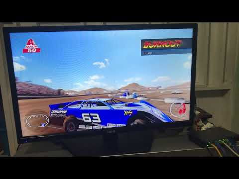 The 1st & 2nd race of the season at Las Vegas Motor Speedway Dirt Track & Atlanta Motor Speedway. Please like comment & subscribe also subscribe to Ian TV ... - dirt track racing video image