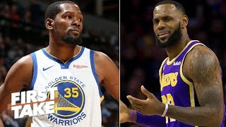 LeBron, Lakers don't need to land Kevin Durant or Anthony Davis - Stephen A. | First Take