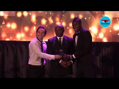 Calcio Trade Ball 2018:Isaac Coffie wins Most Consistent Player Award
