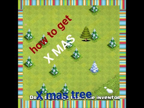 Trick - how to get Xmas tree 🌲!! Clash of clans