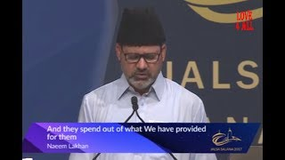 Spend out of what we Provided from them - Naeem Lakhan Sahib Jalsa Canada 2017 day 2