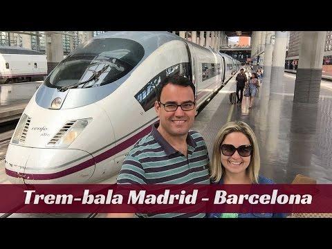 Trem bala entre Madrid e Barcelona