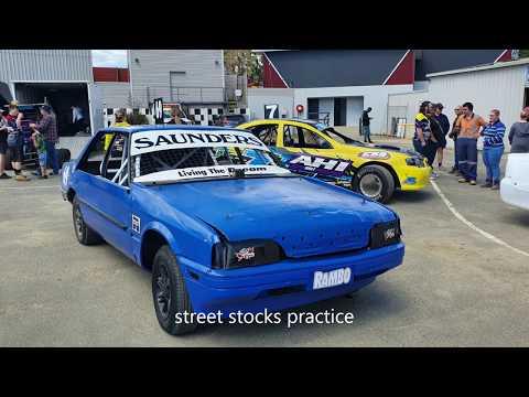 street stocks practice Latrobe speedway 12/10/19