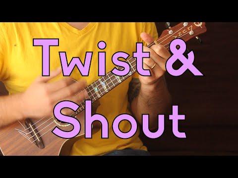 Twist and Shout - Beatles - Beginner Songs Ukulele Lesson