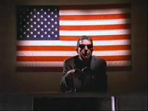 """Democracy"" by Leonard Cohen"
