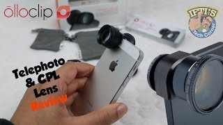 Olloclip - Telephoto & CPL iPhone 5/5s Camera Lens! - Review
