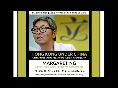 Hong Kong Under China: Challenges to the Rule of Law and Judicial Independence
