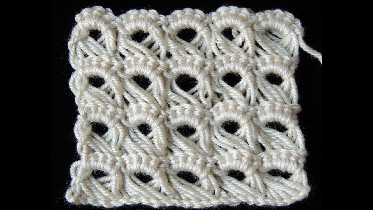 Crochet : Punto Peruano - YouTube