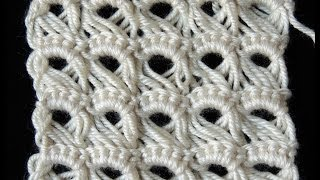 Repeat youtube video Crochet : Punto Peruano