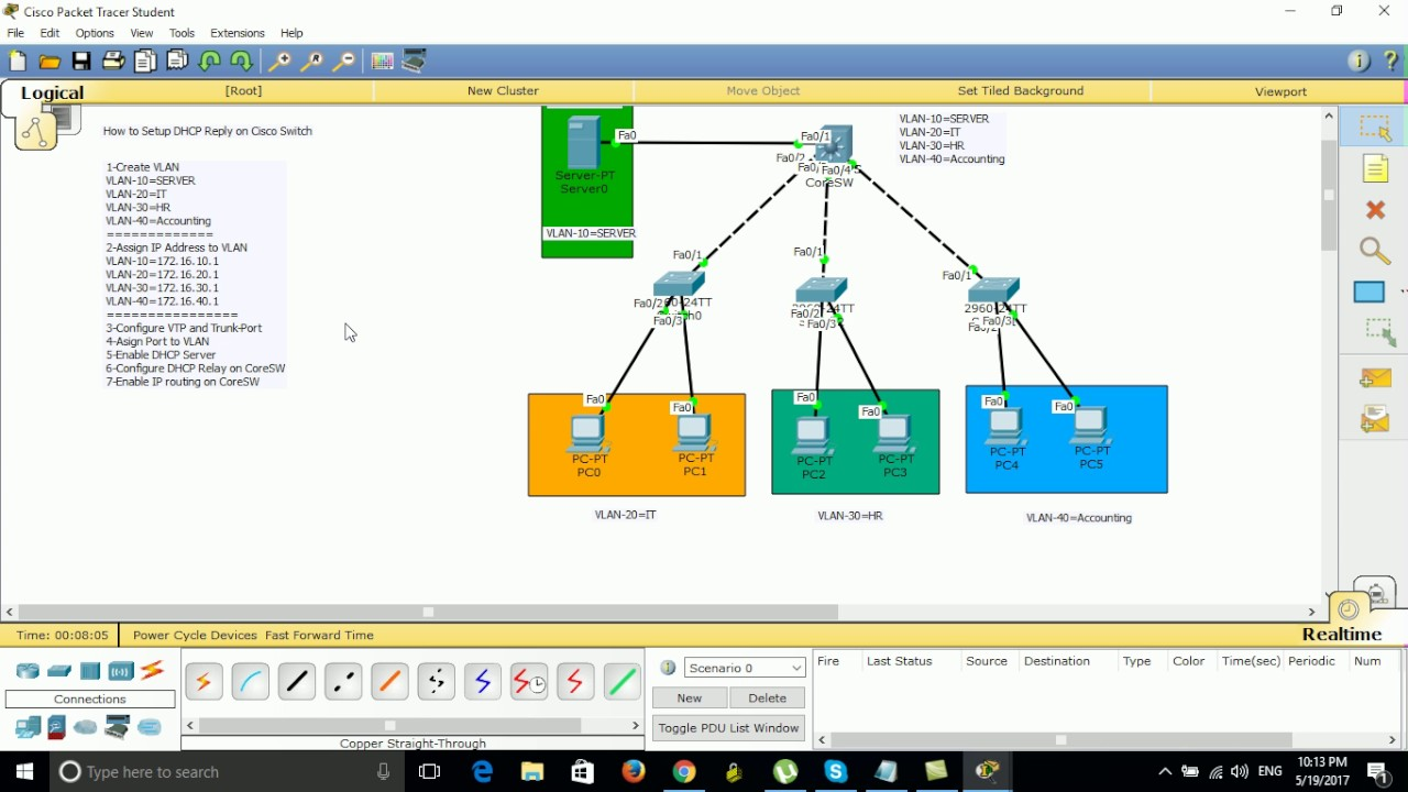 How to Setup DHCP Reply on Cisco Switch YouTube