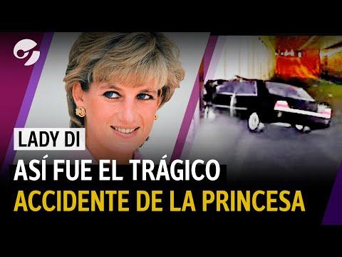 Lady Di: recreación del trágico accidente de autos en París