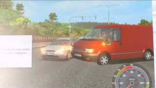 Euro Truck Simulator 2010 : Crash and Bugs