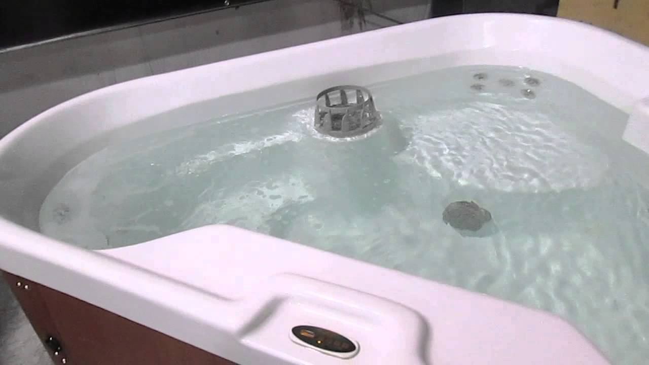 nice keys backyard triangle corner spa 30 jets 115v plug n play hot tub nashville the spa guy youtube
