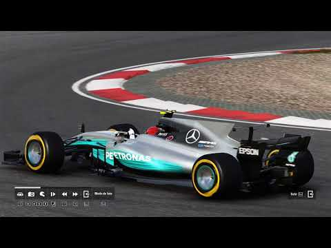 F1 2017 VISTA TV REPETICIÓN GRAND PRIX SHANGHAI 2 CARRERA