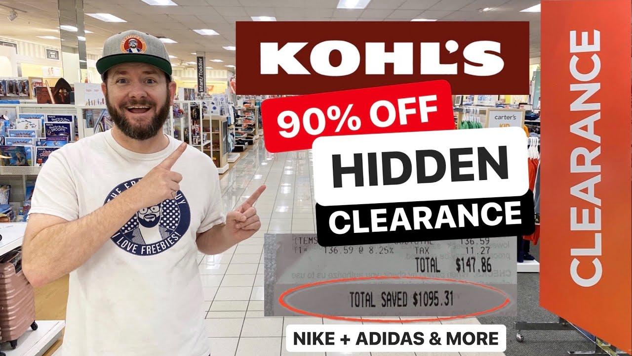 🔥 KOHLS 90% OFF HIDDEN CLEARANCE! NIKE