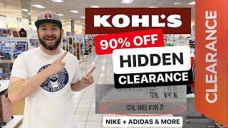 🔥 KOHLS 90% OFF HIDDEN CLEARANCE! NIKE - ADIDAS - SHEETS & MORE!