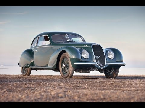 1939 Alfa Romeo 6C 2500 Sport Berlinetta by Carrozzeria Touring