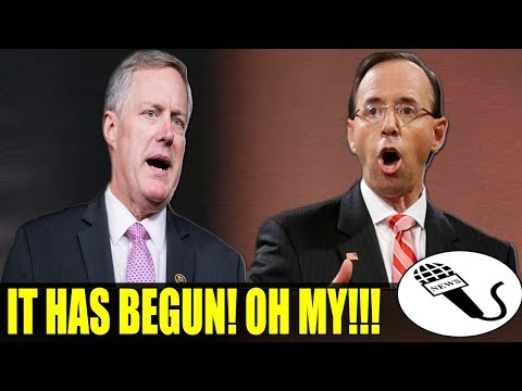 HAPPENING NOW!!! Rod RAT Rosenstein IS TREMBLING IN FEAR!!! GOP Lawmakers Just PULLS The FINAL MOVE!