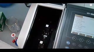 UV Vis spectroscopy screenshot 2