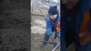 Работа в Польше как она есть. Замена шпал