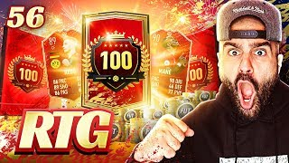 OMG MY BEST REWARDS EVER!! TOP 100 REWARDS! FIFA 20 Ultimate Team Road To Glory Fut Champs #56