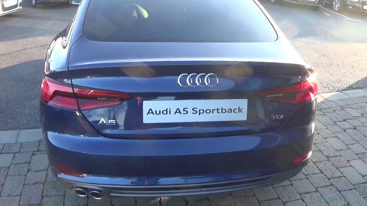 new audi a5 sportback 2 0tdi 190hp s tronic s line youtube. Black Bedroom Furniture Sets. Home Design Ideas