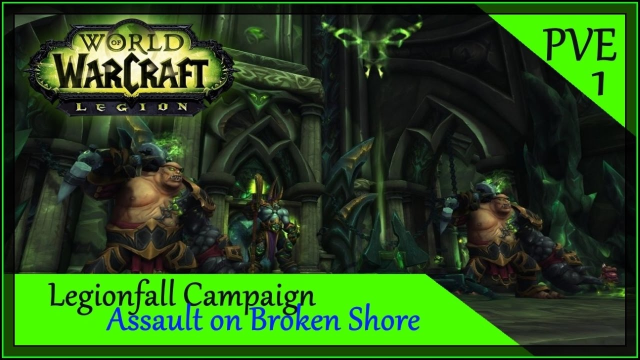 how to start assault on broken shore
