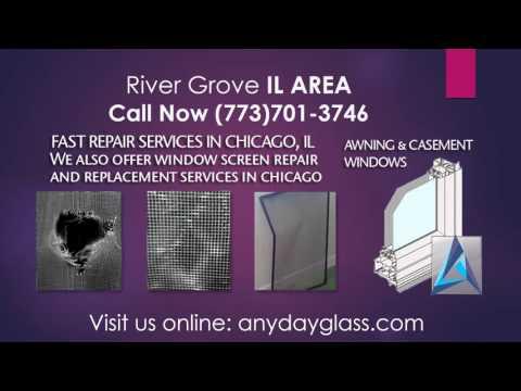 Glass repair near me River Grove IL 1(773)701-3746