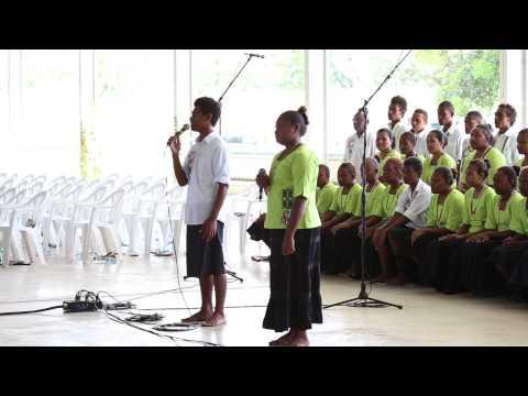 You raise me up, sung by SSEC choir, USP grad 2013, Honiara, Solomon Islands