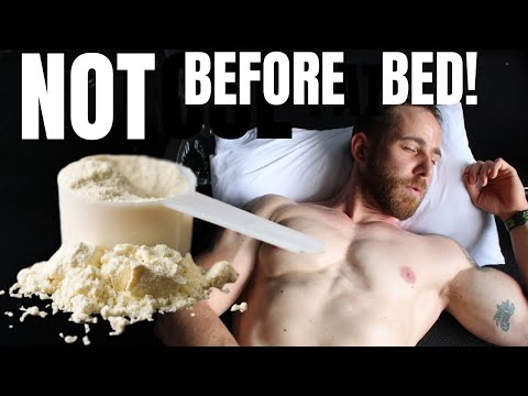 Protein Improves Sleep | Timing Matters | Whey Protein