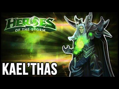 Flamethrower Flamestrikes! | Kael'thas Gameplay - Heroes of the Storm