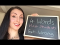 Live English Writing Practice: 4 words most students get wrong
